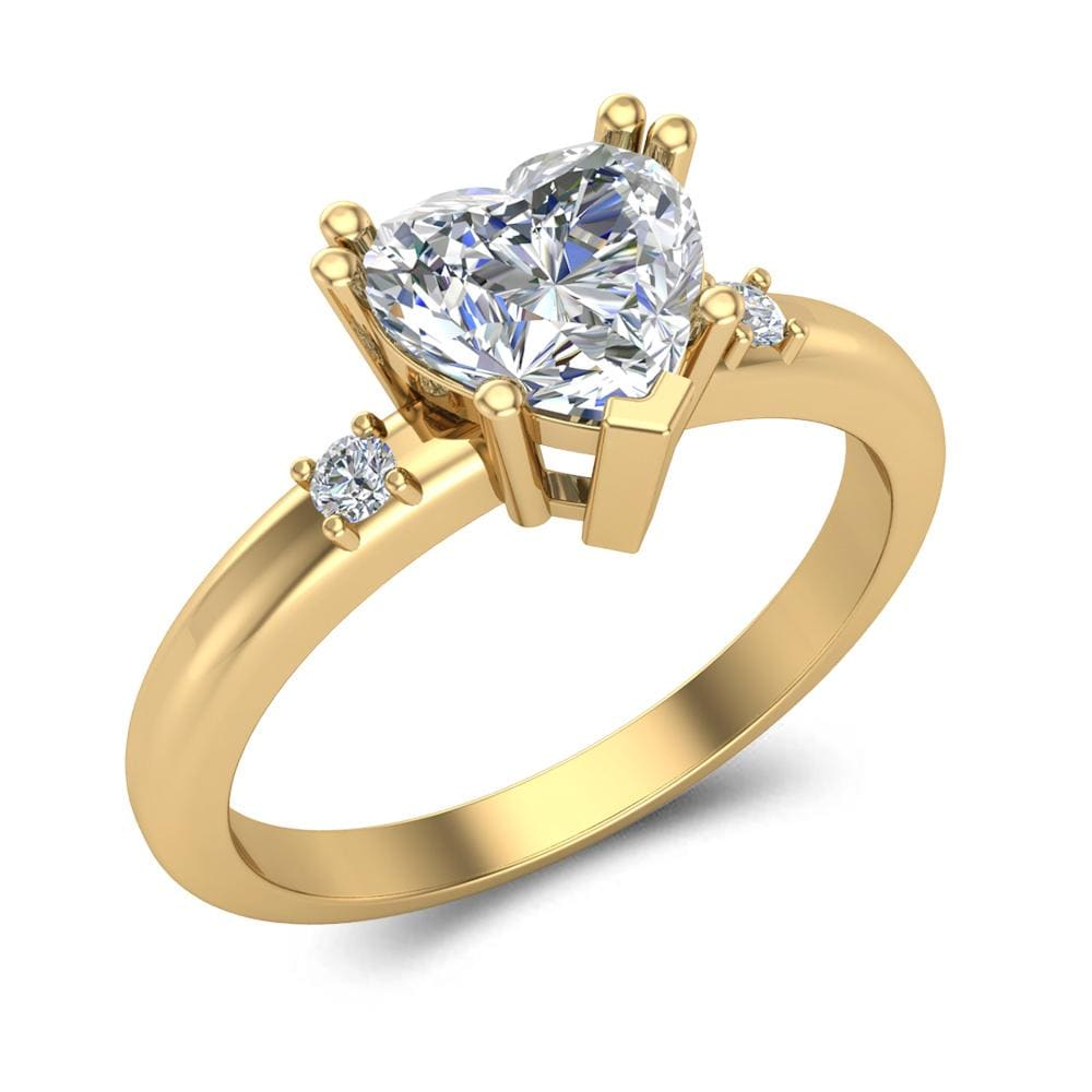 Engagement Rings 10k Yellow Gold Engagement Ring