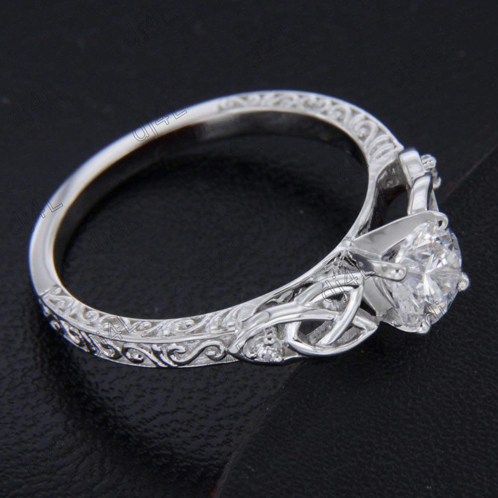 Celtic Knot Engagement Rings