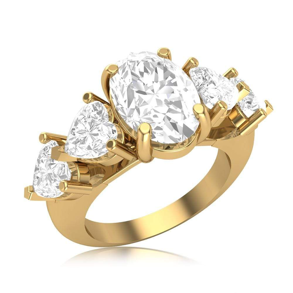 Five-Stone Engagement Wedding Ring