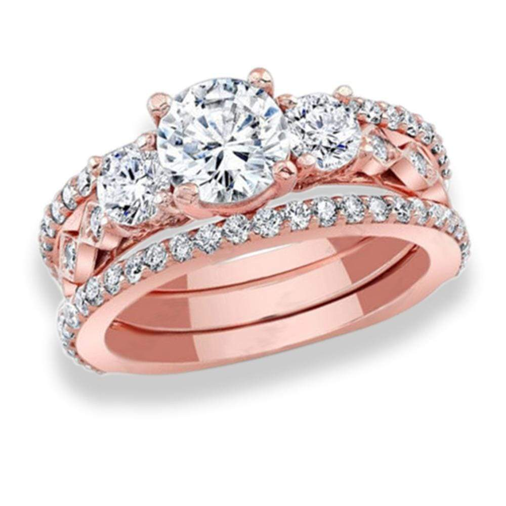 Engagement Rings Engagement Ring Bridal Set