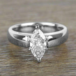 Engagement Rings Marquise Cut Diamond Engagement Ring