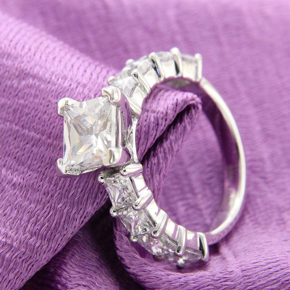 Engagement Rings Princess Cut Diamond Engagement Ring