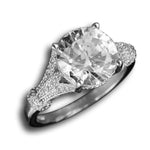 Solitaire Vintage Engagement Ring