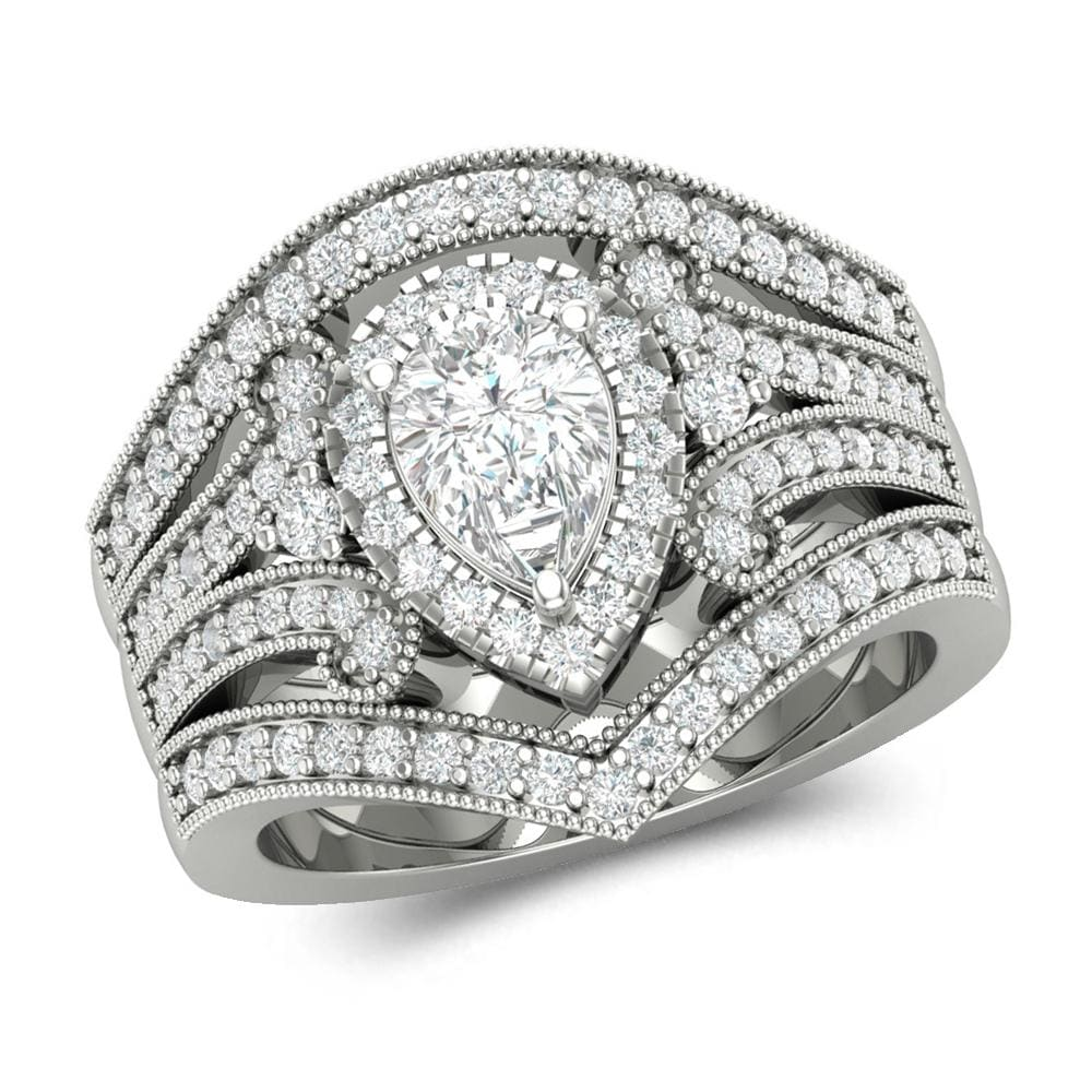 3 Piece Wedding Ring Sets