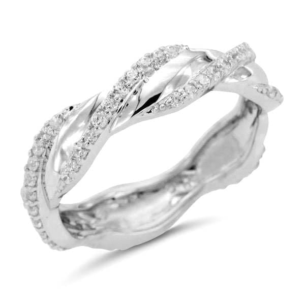 Cluster Twisted Eternity Bands