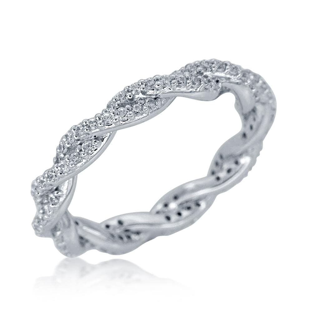 Infinity Eternity Wedding Band Ring