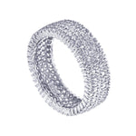 Pave Set Eternity Band