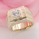 Men's Wedding Pinky Band Rings