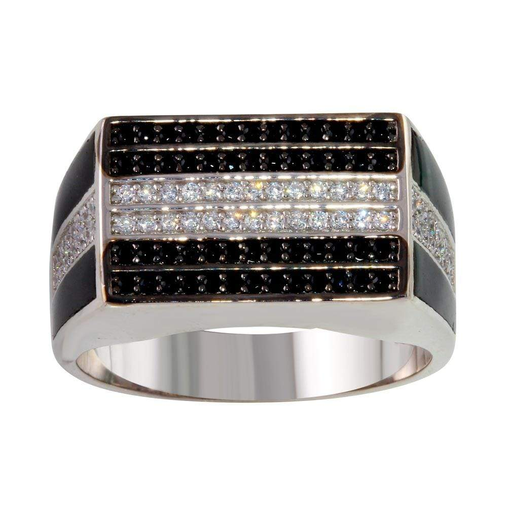 Rectangle Ring with Diamond