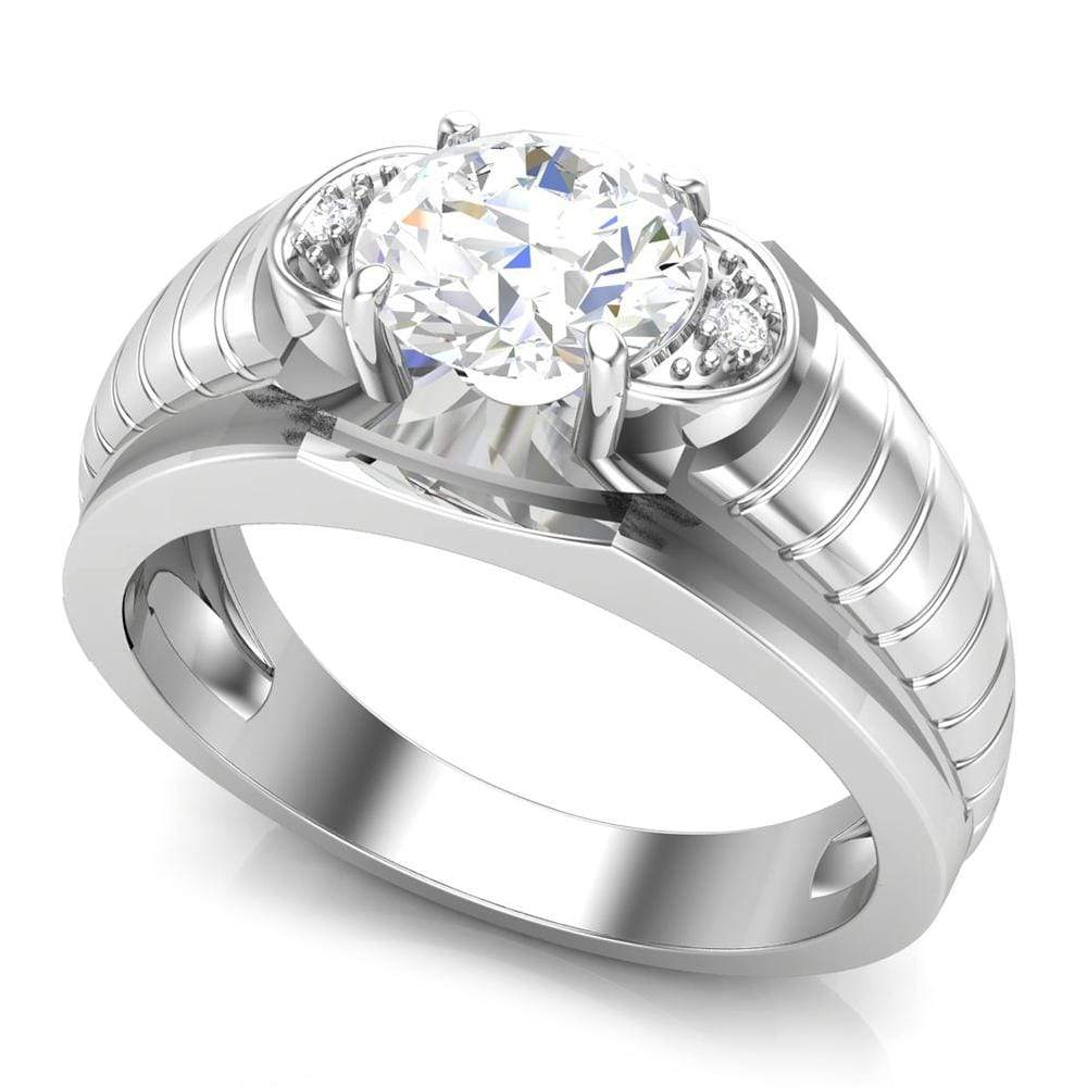 Solitaire Ring For Men