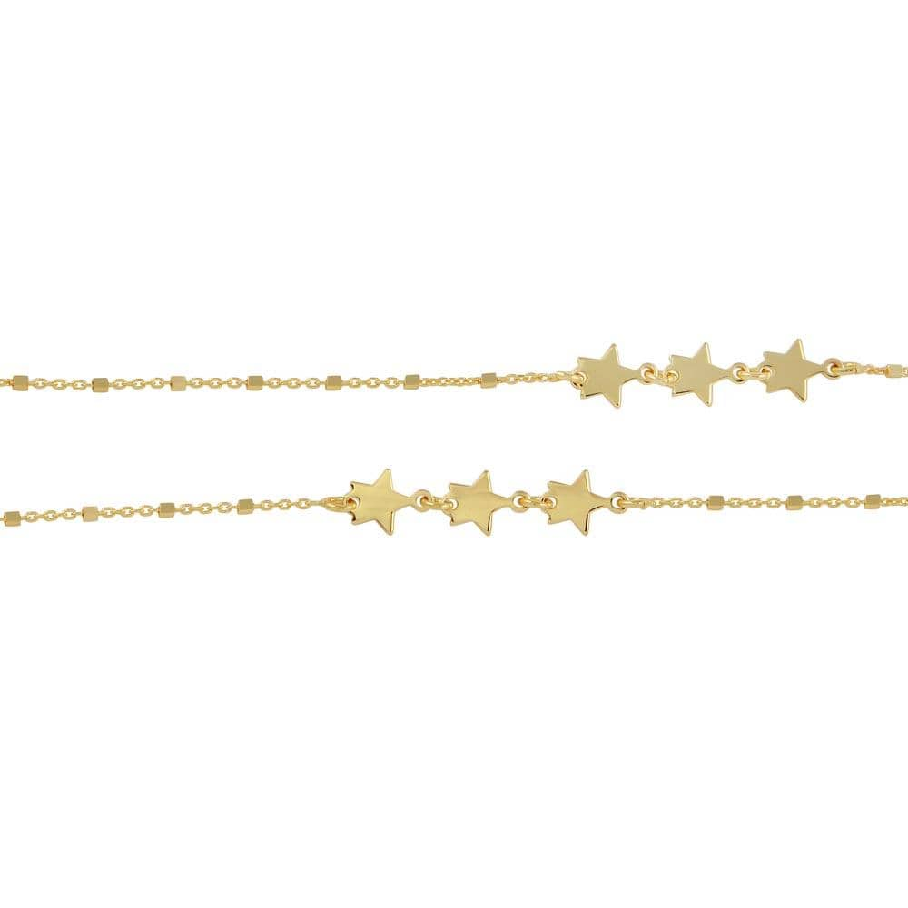 Stars Chain Necklace