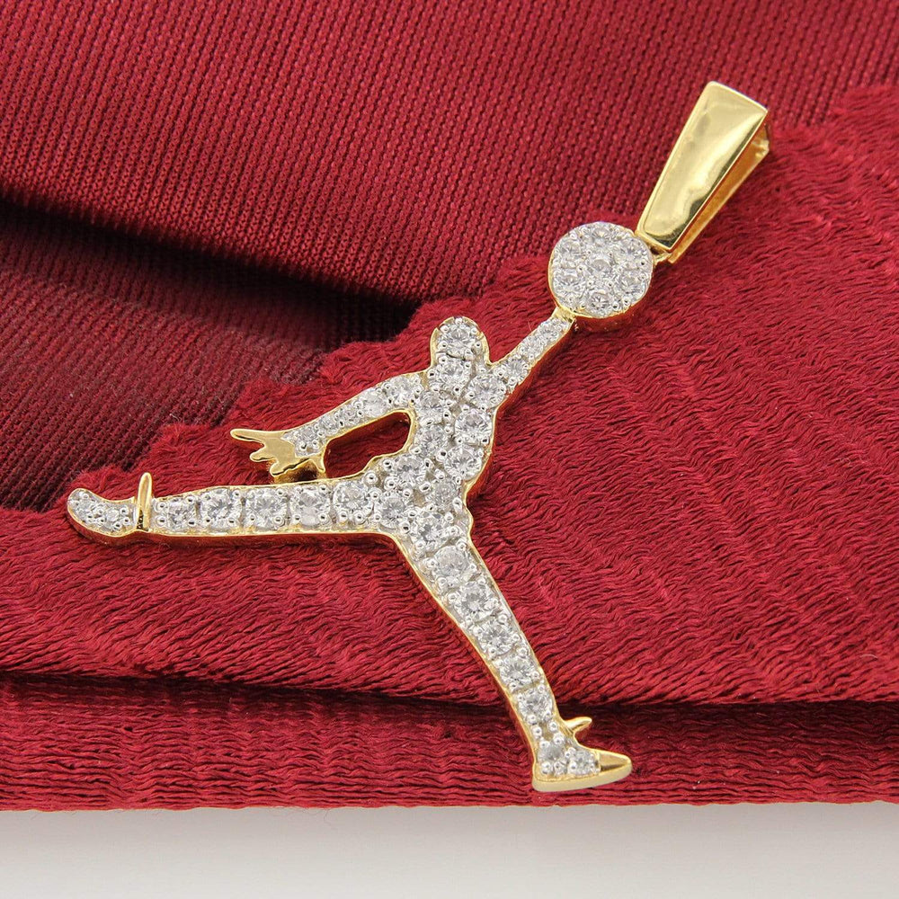 Necklace Basketball Jumpman Pendant For Men