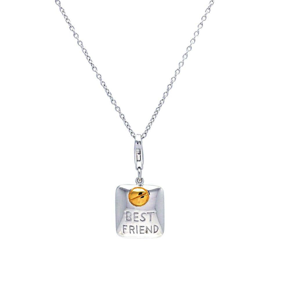 Best Friend Earrings and Necklace Set