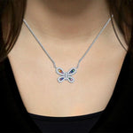 Necklace Butterfly Pendant Necklace