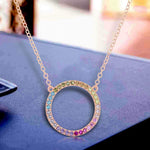 Necklace Circle of Life Pendant Necklace