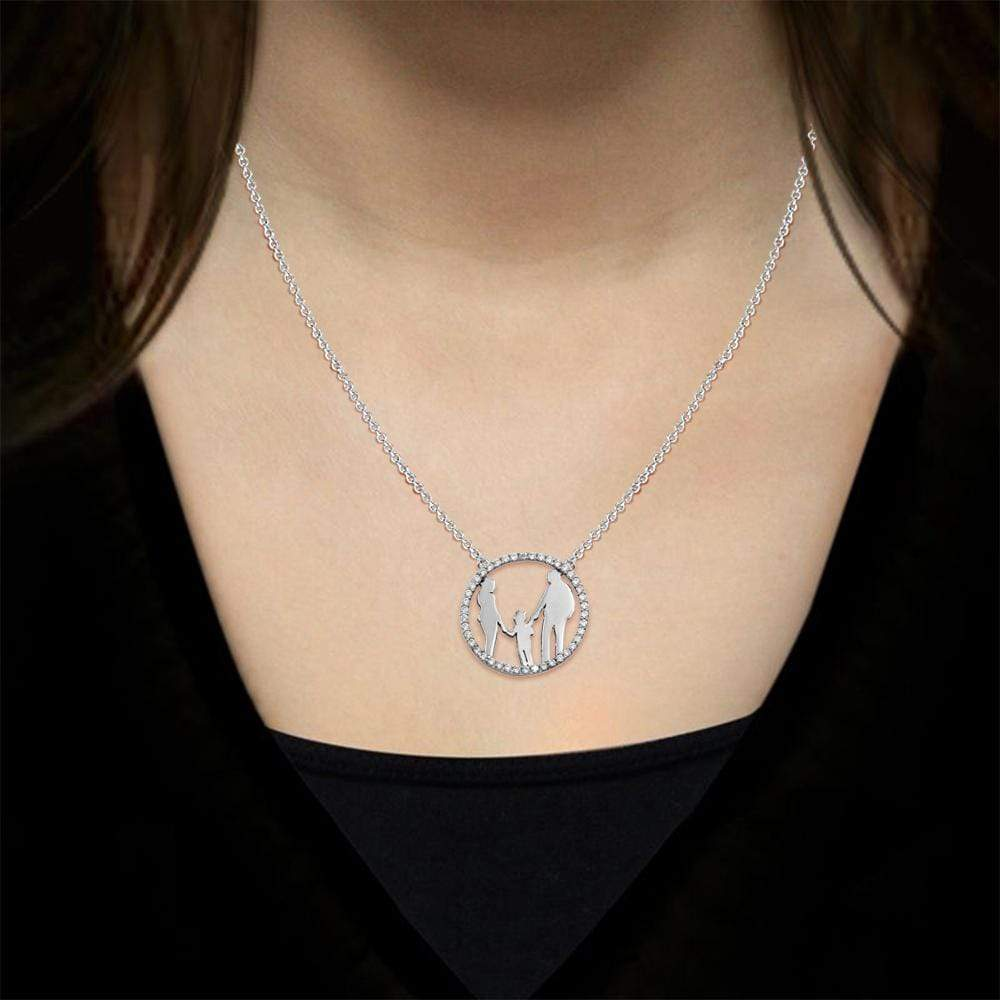 Family Pendant Necklace