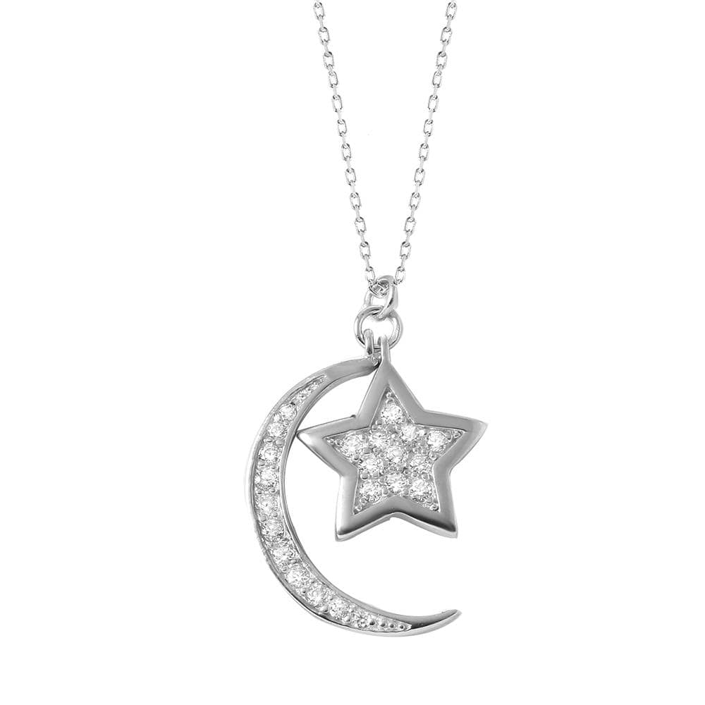 Necklace Moon Star Necklace