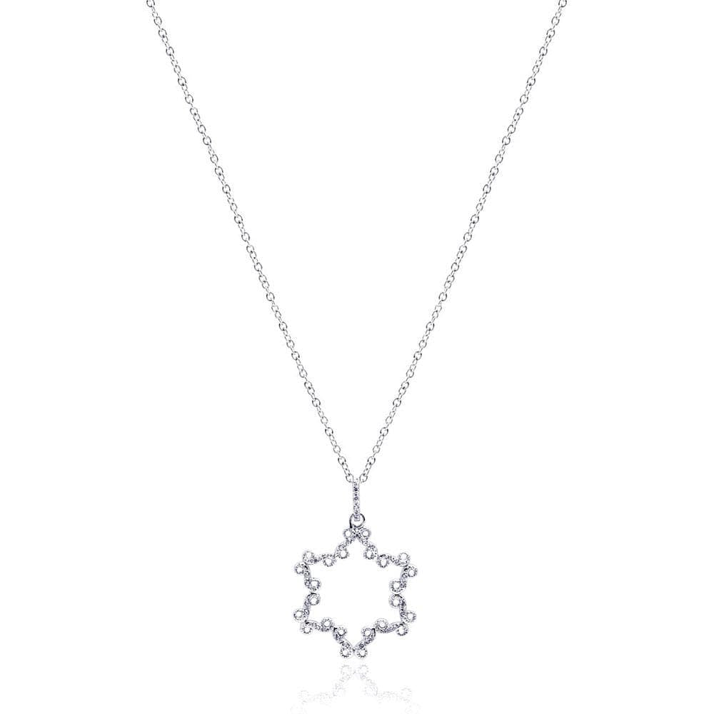 Necklace Open Star Necklace
