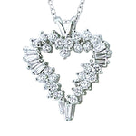 Necklace Women's Heart Shape Necklace