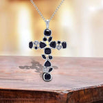 Multi-Shape Cross Pendant Necklace