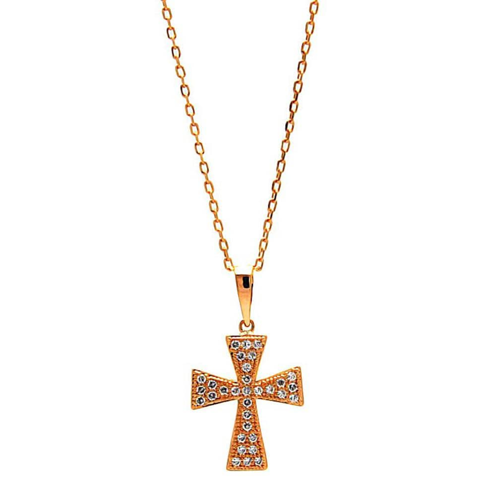Pendant Cross Charm Pendant Necklace