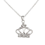 Crown Pendant Necklace For Her