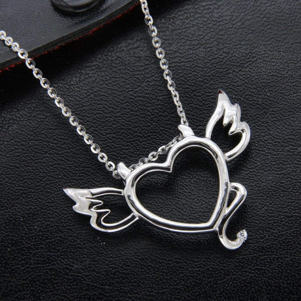 Pendant Devil Heart Pendant Necklace