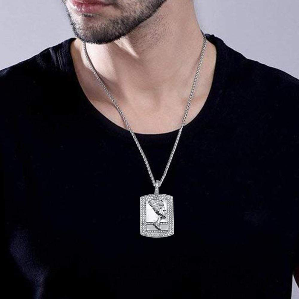 Pendant Egyptian Nefertiti Pendant For Mens