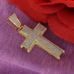 Pendant Mens Cross Pendant Charm Piece