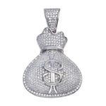 Pendant Mens Money Bag Pendant