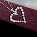 Pendant Open Heart Pendant Necklace