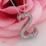 Pendant Open Heart Women's Pendant
