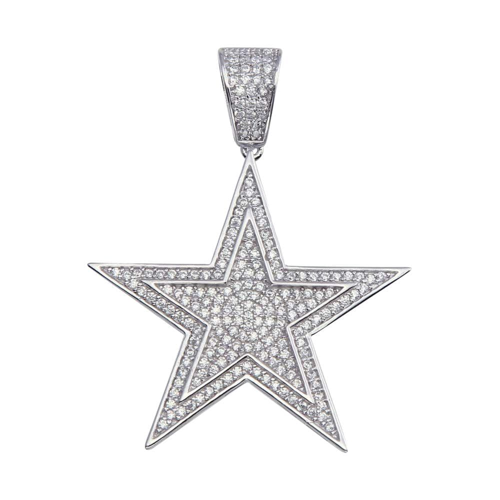 Pendant Star Pendant In 925 Sterling Silver