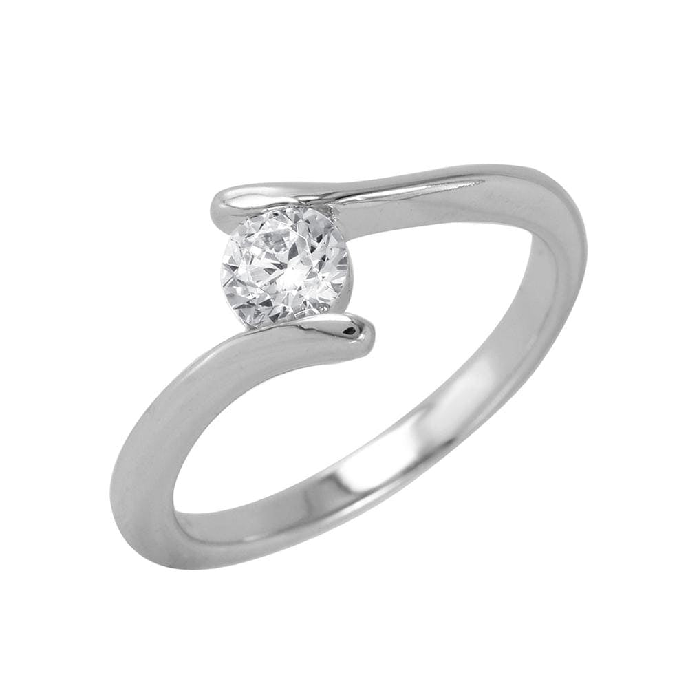 Promise Ladies Ring 925 Sterling Silver