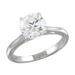 Solitaire Women's Ring 925 Silver