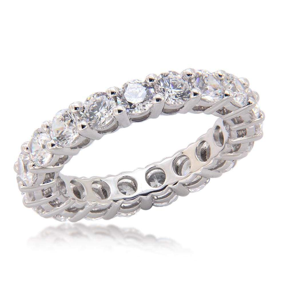 Full Eternity Wedding Band Ring