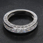 Wedding Band Princess Cut Diamond Wedding Band