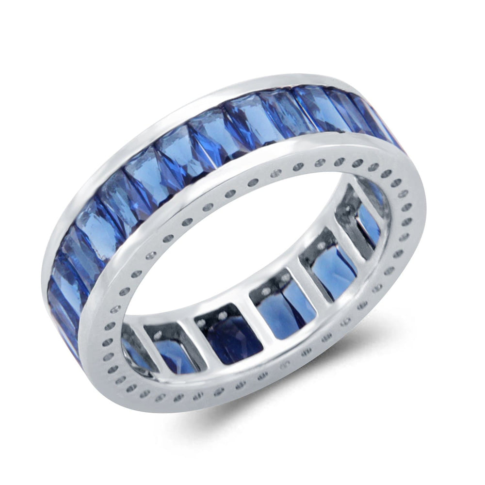 Full Eternity Baguette Shape Band Ring