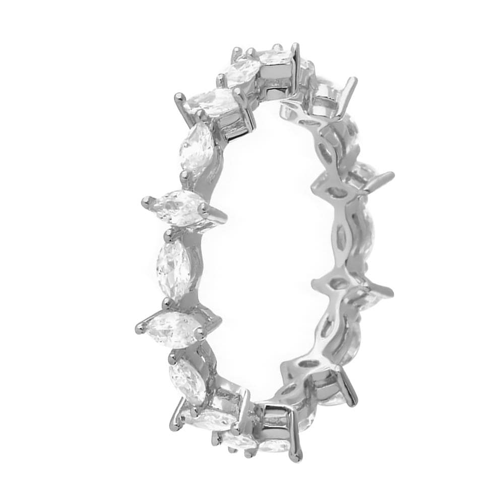 Marquise Shape Full Eternity Band