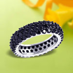 Full Eternity Pave Set Band Ring