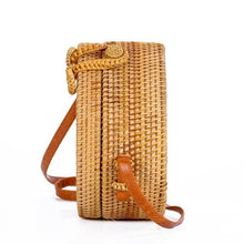 Load image into Gallery viewer, Hand-woven Rattan Bag - Valerie