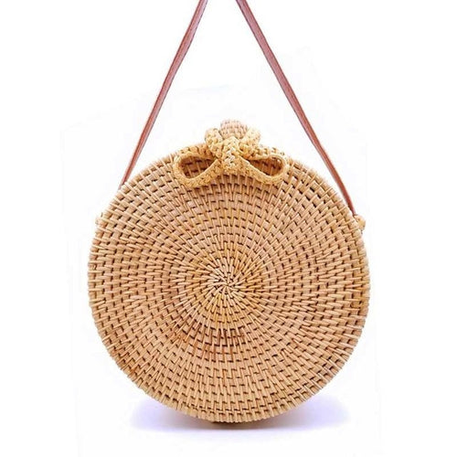 Bali bag Women Bohemian Rattan Bag - Grace