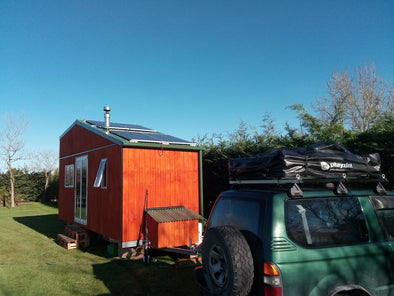 Customer Install - Aidan's Tiny House on Wheels