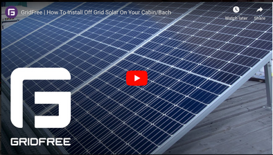 VIDEO: How to Install Off-Grid Solar on your Cabin/Bach