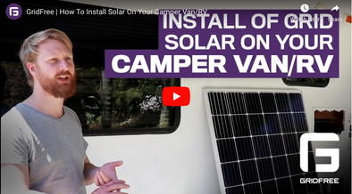 VIDEO: How to Install Off-Grid Solar on your Caravan/Motorhome