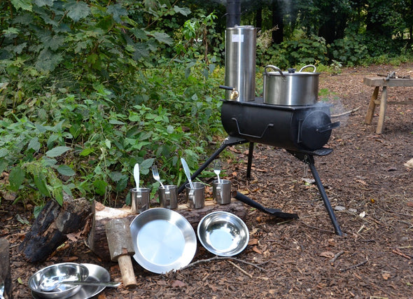 Portable Wood Camping Stove