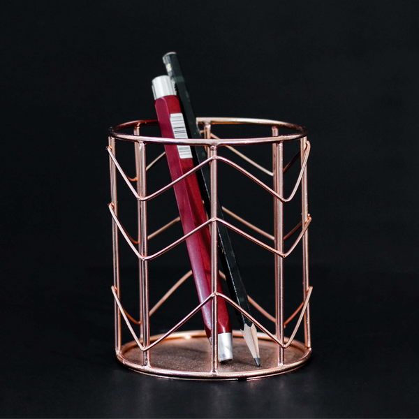 Metal Wire Pen Holder