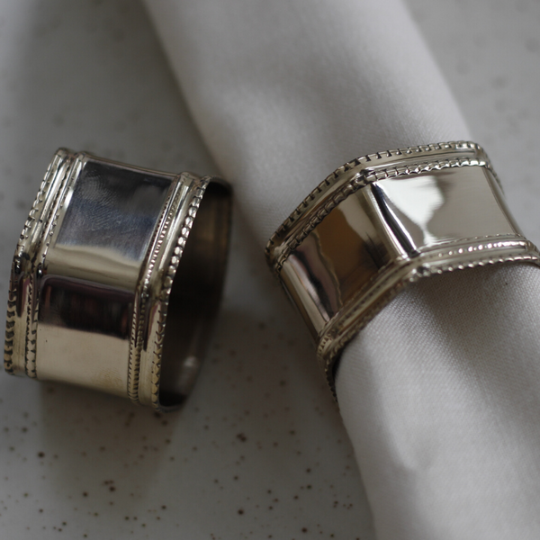 Shalimar Napkin Ring Set Of 4