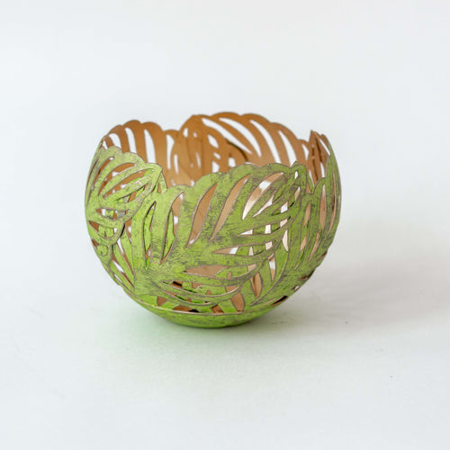 Tropical Votive Palm Green