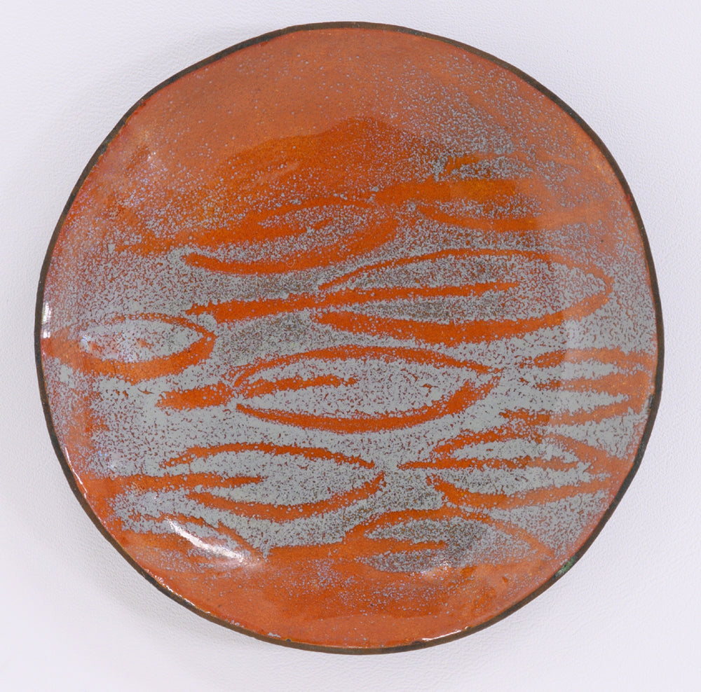 Enamel Dish with Leaves No. 2